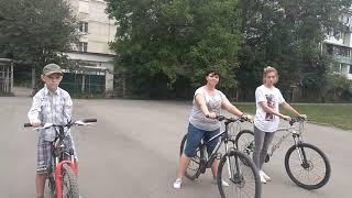 велозанятие № 1 с Крымвел - обучение езде на велосипеде