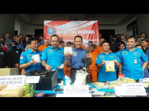 BNN Sita 37,25 Kg Sabu dan Puluhan Ribu Pil Ekstasi di Empat Wilayah Indonesia Mp3
