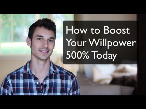 How to Boost Your Willpower 600% in 5 Minutes - With Alexander Heyne