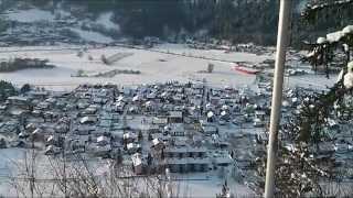 Döbriach in Schnee gehüllt