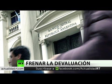 Resultado de imagen para Moneda argentina se devaluó 30% y el dólar cotizó a 57,29 pesos