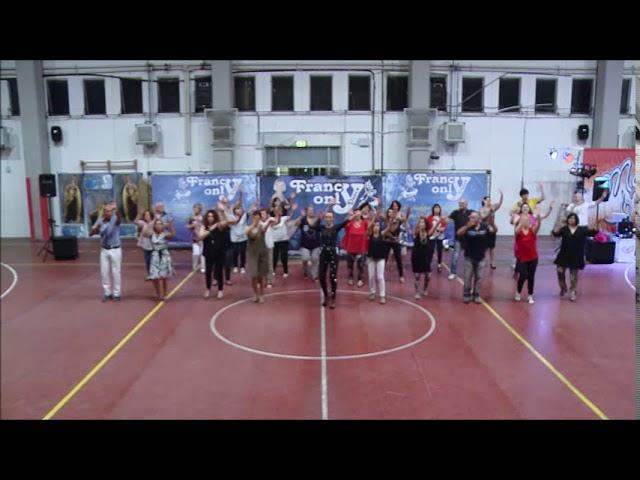 16° spettacolo ASD Francy Only Dance - balli di gruppo 'Lento Violento-Mira la Luna-Occidentali'