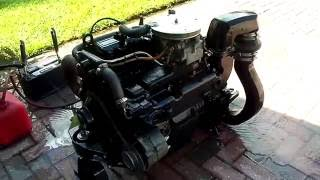 OMC 3 0L GM Marine Engine