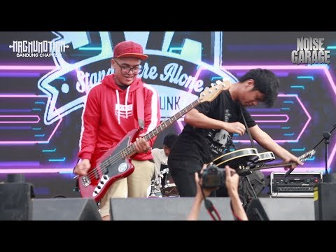 Stand Here Alone live at Magnumotion Bandung Chapter 2018