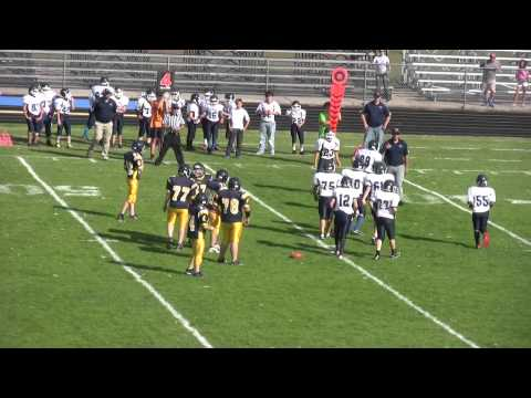 Middle School Football (7th Grade) - Petoskey at Cadillac 2015