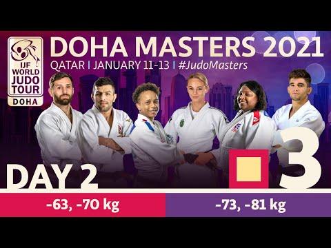 Day 2 - Tatami 3: Doha World Judo Masters 2021