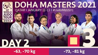 Day 2 - Tatami 3: Doha World Judo Masters 2021