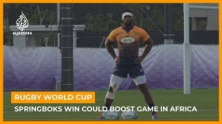 Springboks win could boost rugby in Africa