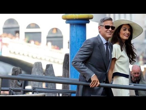 George Clooney wedding: Actor marries Amal Alamuddin in italy venice