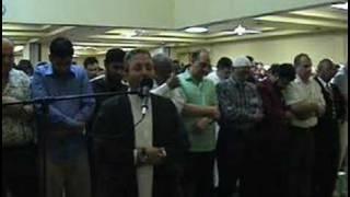 muhammad jebril opening the islamic center of raleigh العشاء