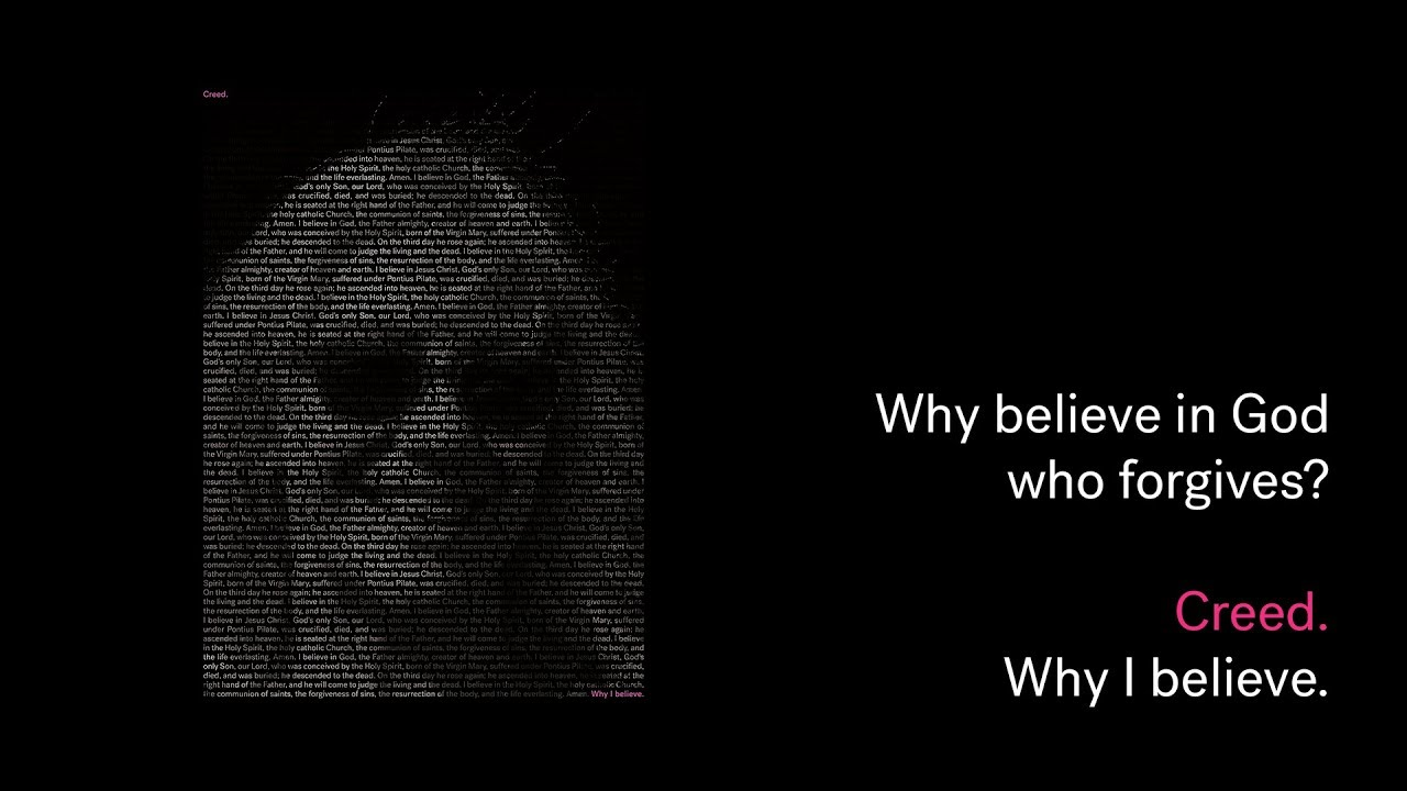 Creed: Why believe in God who forgives? Cover Image