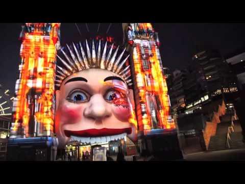 Terminator Genisys Transforms Sydney's Iconic Luna Park
