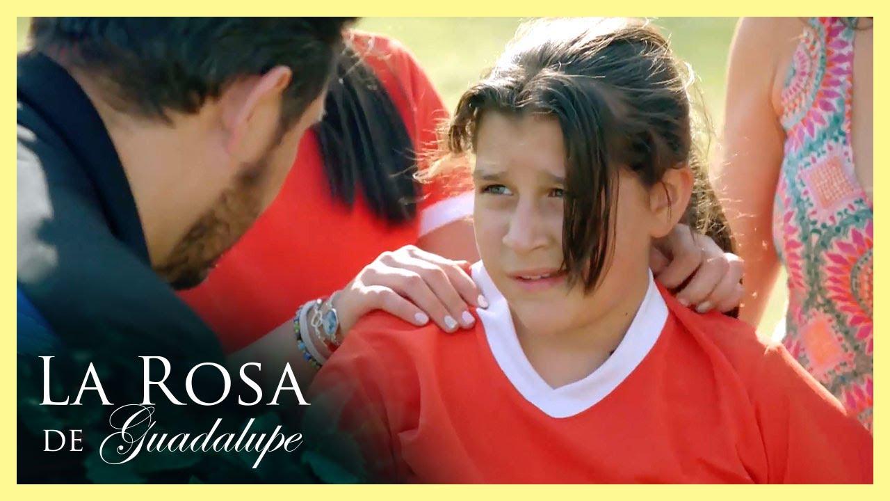 ¡Edwin lesiona a Samantha! | La historia de un padre, un príncipe y una... | La Rosa de Guadalupe