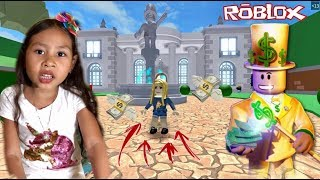 I GOT RICH IN ROBLOX * I FOUND A LOT OF MONEY INSIDE THE MILLIONAIRE MANSION *
