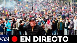 CRISIS EN ECUADOR EN DIRECTO | Nuevas protestas en Quito