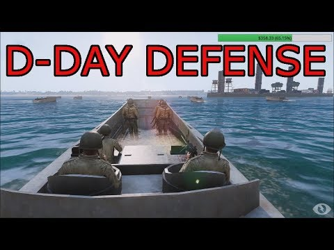 D-Day Defense: Arma 3 German Iron Front Ops Part 1