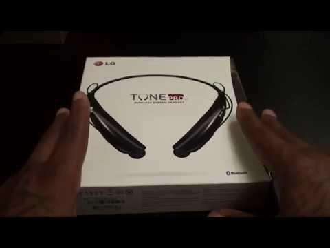 LG Tone Pro Wireless Bluetooth Stereo Headset HBS-750