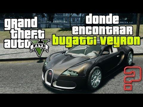 Gta V Bugatti Veyron Donde Encontrarlo Y Mas Supercoches