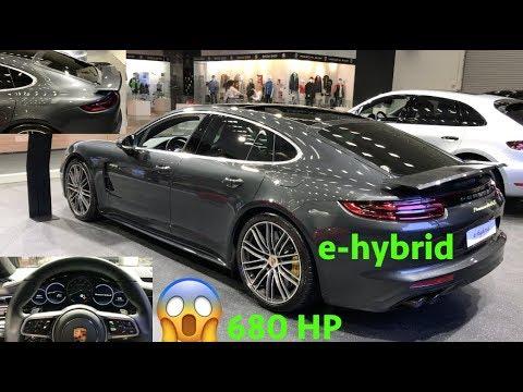 Porsche Panamera Turbo S E Hybrid 2019 Quick Look In 4k Youtube
