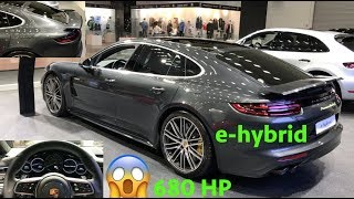 Porsche Panamera Turbo S e-hybrid 2019 - quick look in 4K