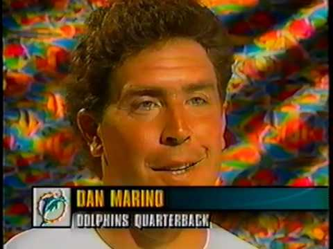 1994 Wk 07 Pregame Marino vs Hostetler