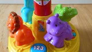 Vtech Baby Animal Fun Merry Go Round Musical Spinning Toy Review