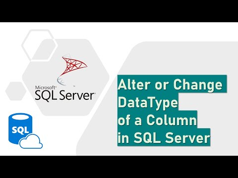 Rename Or Change DataType Of A Column In SQL Server