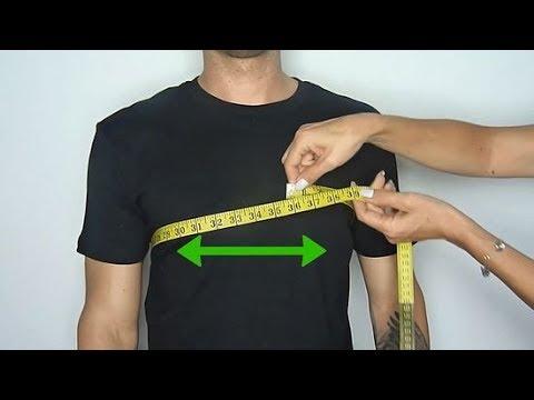 Как правильно снять мерки одежды для мужчины, используя сантиметр
