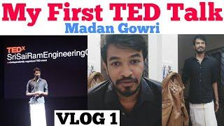 My First TED Talk | Tamil | Madan Gowri | MG Vlog 1