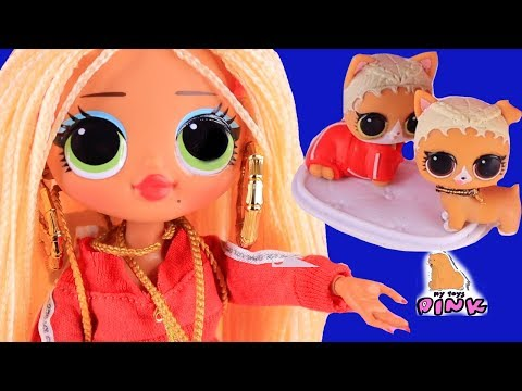 Новые #КУКЛЫ ЛОЛ как БАРБИ OMG FASHION LOL SURPRISE DOLLS! #dress up // My Toys Pink