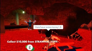 They Thought I Was Giving Them Cash... ROBLOX JAILBREAK TROLLING!!|