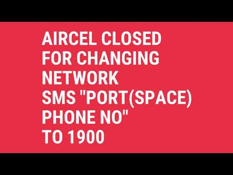 AIRCEL NETWORK PROBLEM FIX