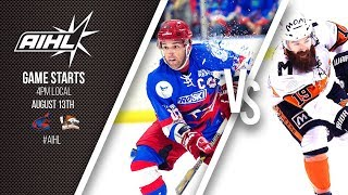 AIHL Live Game 96: Melbourne Mustangs @ Newcastle Northstars (13/08/2017)