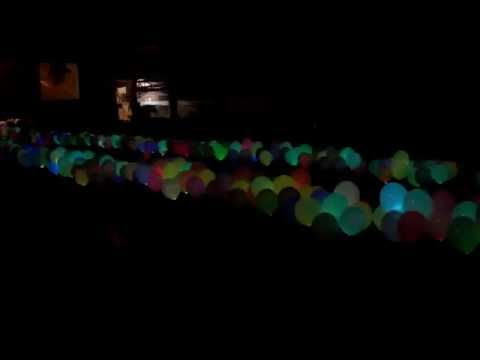 700 pieces Helium Quality LED Balloons
