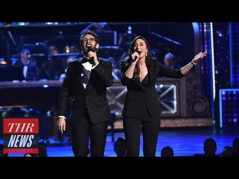 Sara Bareilles and Josh Groban Kick Off The 2018 Tony Awards With An Ode to 'Losers' | THR News