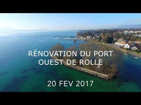 Rolle Project D'extension et De Renovation Du Port Ouest Suisse 2016-2017  Part 1