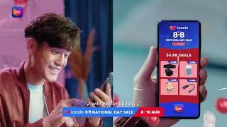 Lazada 8.8 National Day Sale screenshot 4