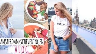 Amsterdam/Scheveningen VLOG I die coolsten Restaurants, Training, Strand