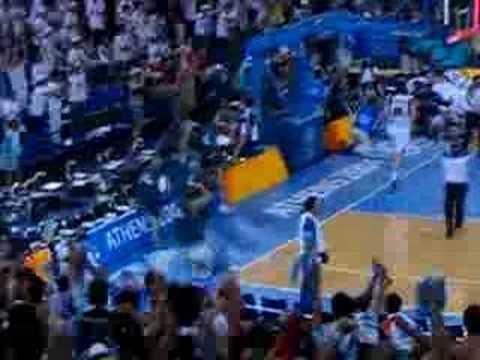Ginobili buzzer beater Athens Olympics