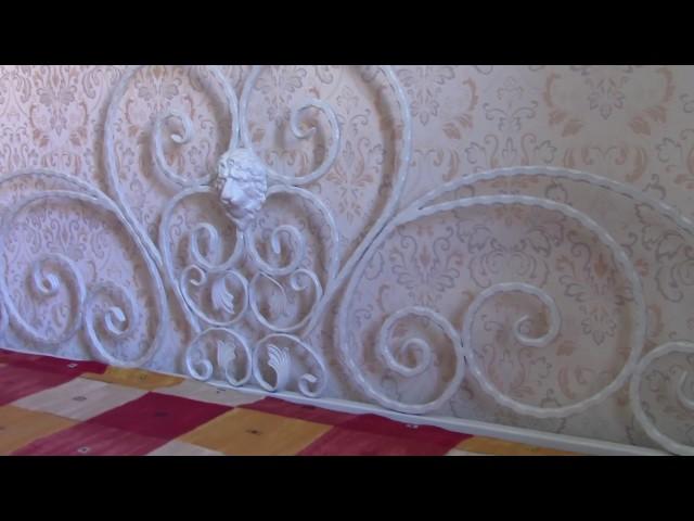 Кованая кровать – кованая мебель