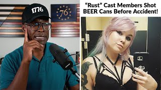 """UPDATE: """"Rust"""" Crew Shot BEER Cans With LIVE Ammo Before Accident!"""