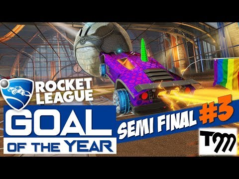 Rocket League - GOAL OF THE YEAR 2018 - SEMI FINAL #3 thumbnail