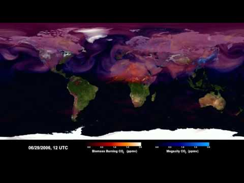 Carbon Dioxide Sources From a High-Resolution Climate Model