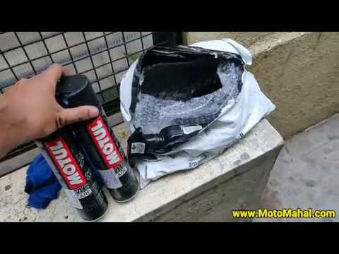 Motul C1 C2 Combo Chain Lube and Chain Clean Review | How To Clean Bike Chain