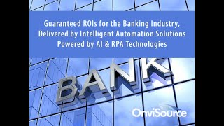 Resolve Banking Challenges in Compliance, Customer Experience & Productivity with Guaranteed ROIs