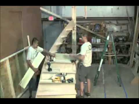 Prefab Wood Stair Kit Assembled 3 Min Discountqualitystairs.com