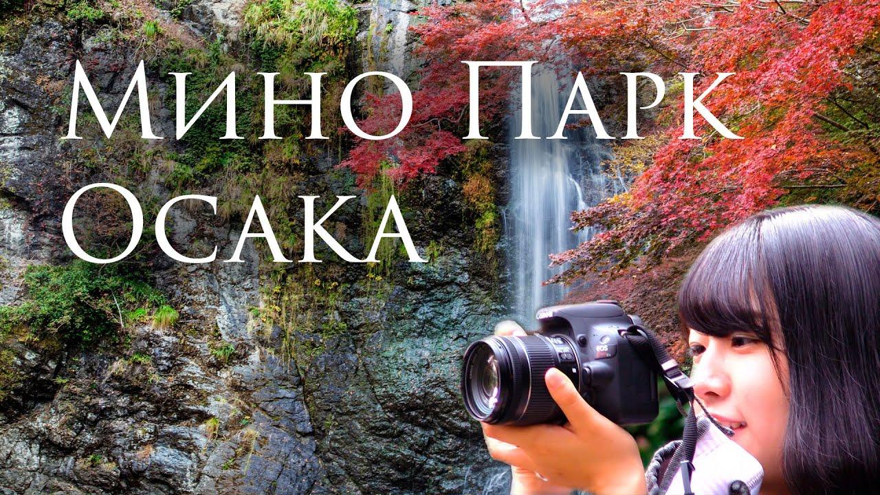 Осень в национальном парке Мэйдзи но Мори Мино, Осака ...
