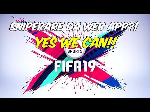 FUT 19 COMPRAVENDITA - SNIPERARE ISTANT GIOCATORI DA WEB APP!!