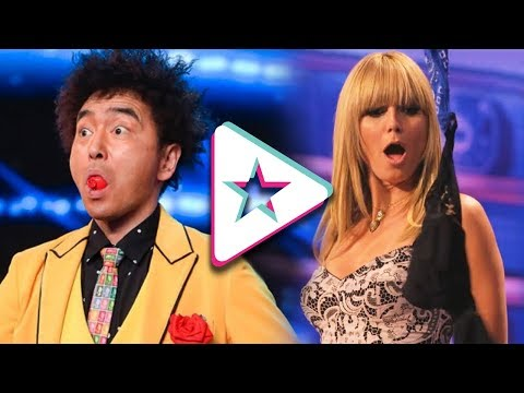 Top 10 Magicians on America's and Britain's Got Talent Ever