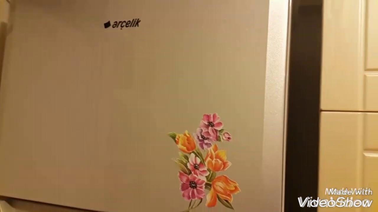 Buzdolabı Boyama Bulaşık Makinesi Boyama 1 Youtube